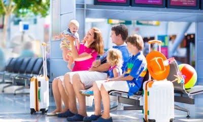 Самостоятельное путешествие с детьми