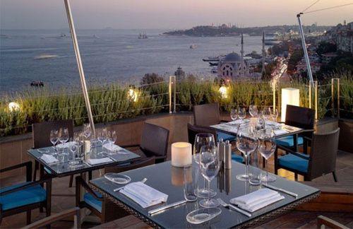 вид с ресторана Swissotel The Bosphorus