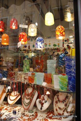 витрина магазина, Мурано