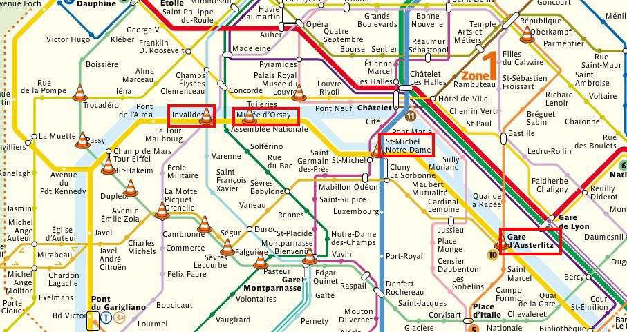 paris par le train metro