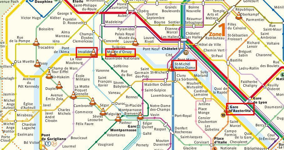 paris par le train metro
