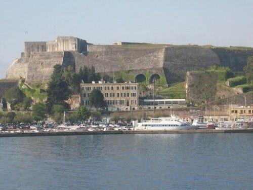 Новая Крепость, Корфу