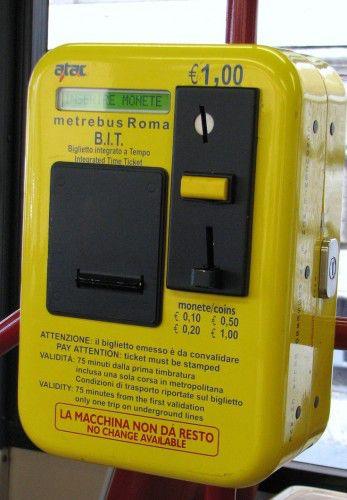 автомат по продаже билетов BIT