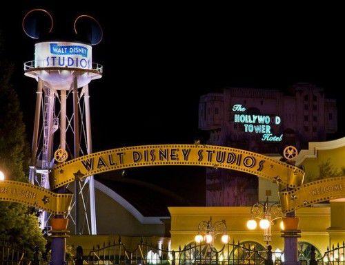 вход в Walt Disney Studio