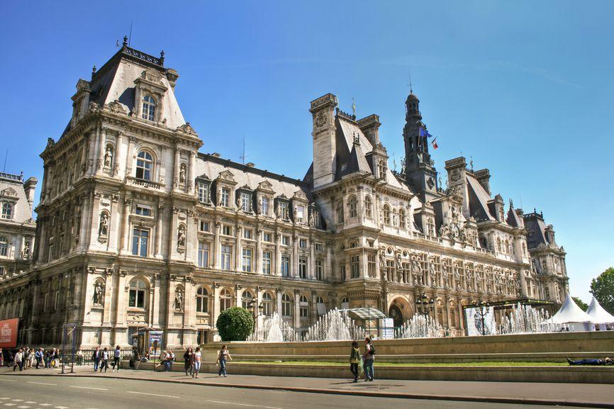 Отель де Вилль, Париж
