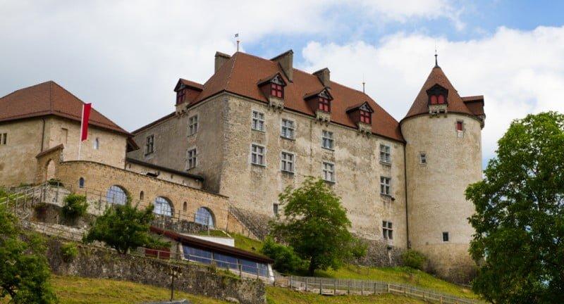 Замок в Грюйере