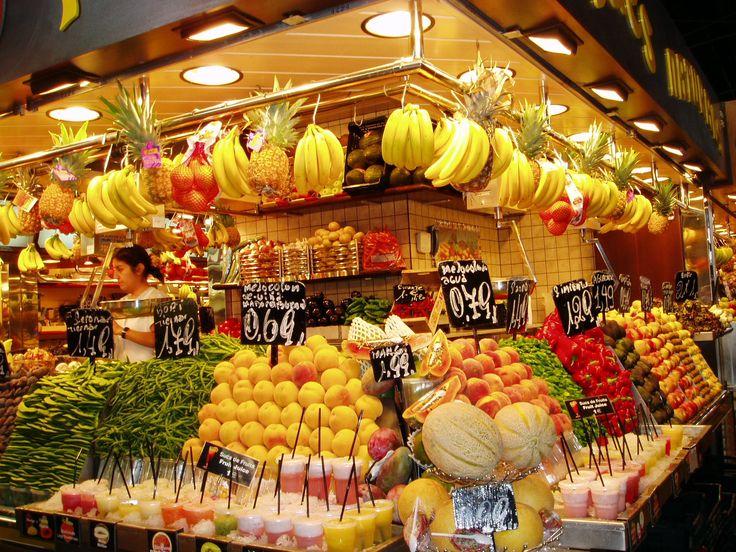 рынок La Boqueria