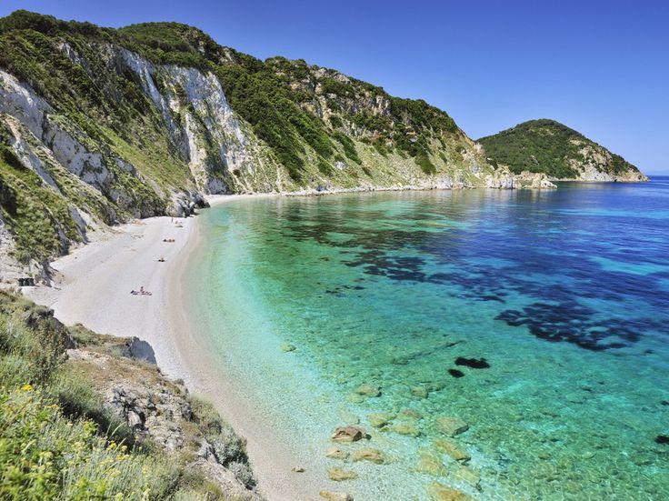 Эльба, пляж Sansone