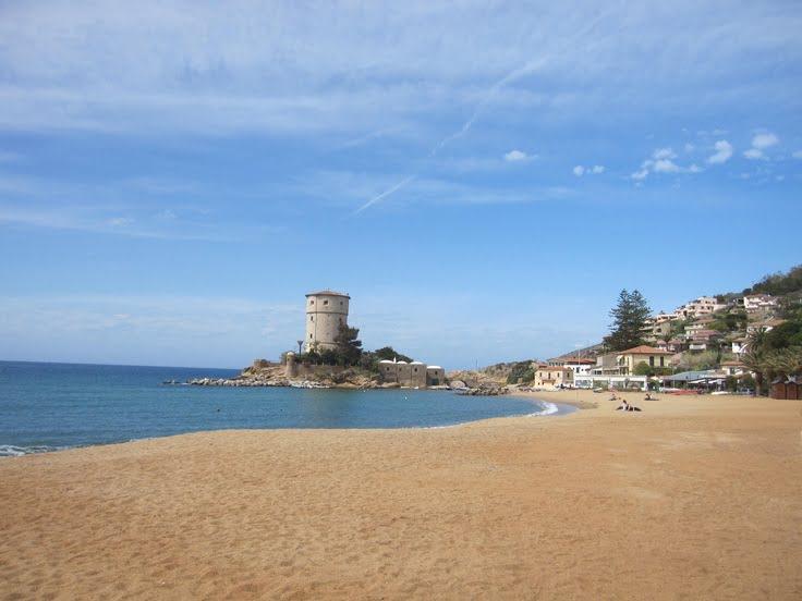 пляж острова Джилио (isola Del Giglio)