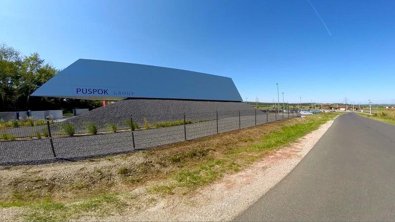 станция-парковка-производственное здание
