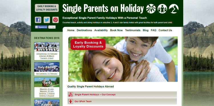 Single Parent Holidays