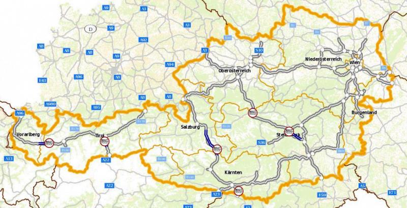 виньетка в австрии