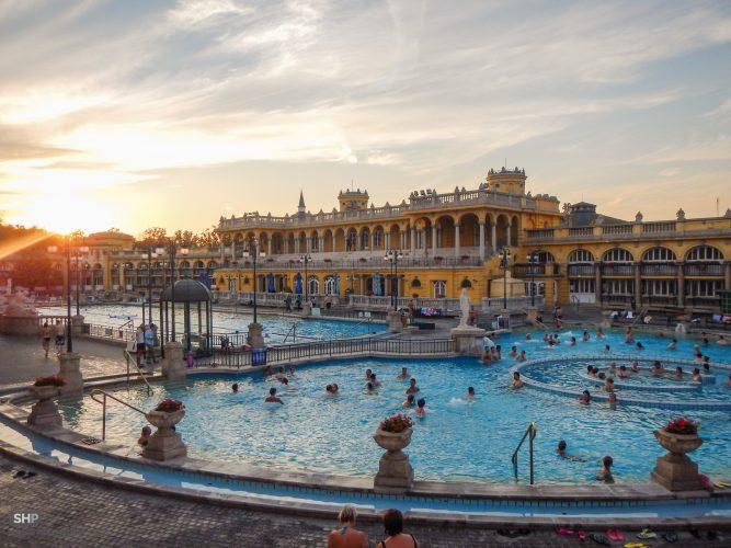 Стоимость посещения терм в будапеште