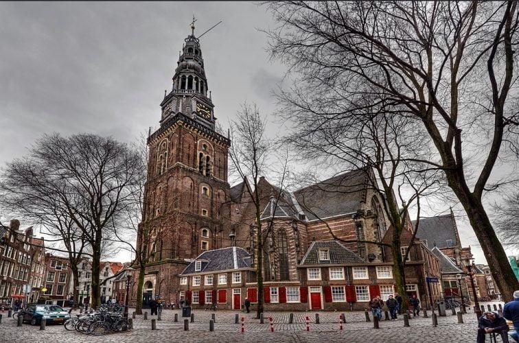 маршрут по амстердаму