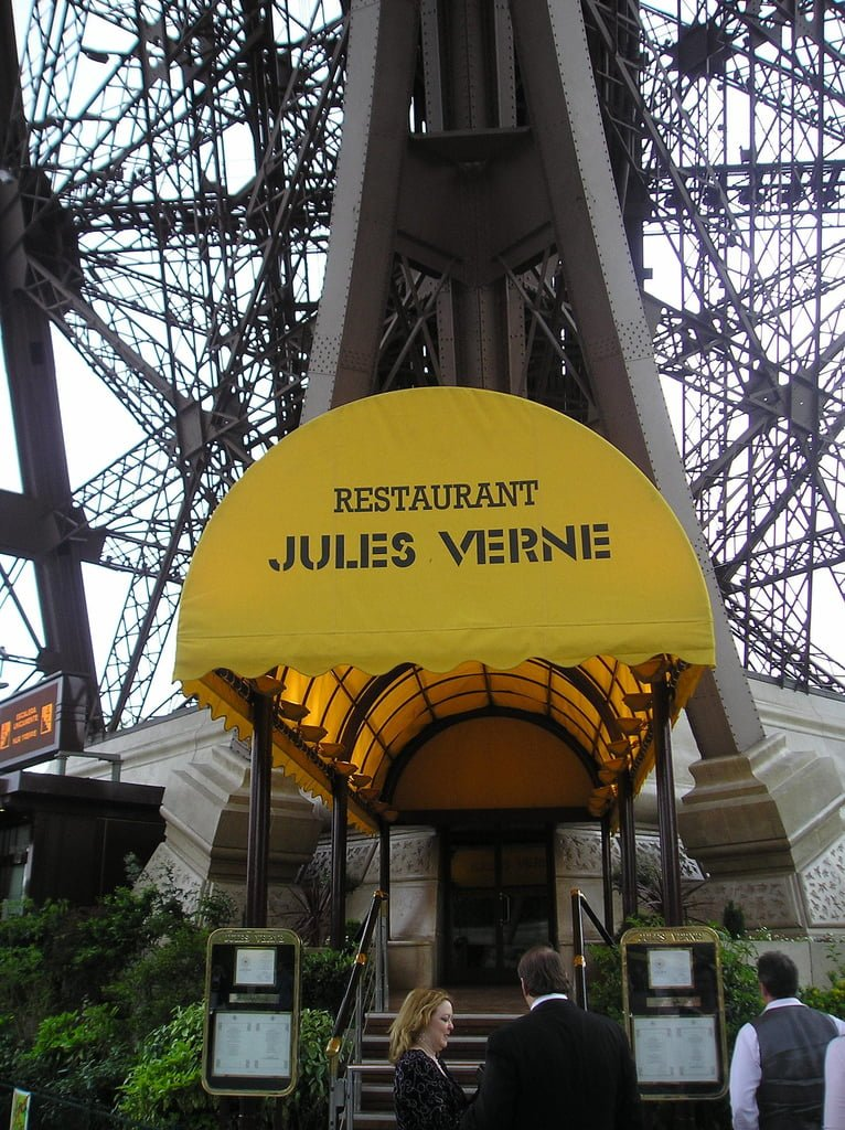 eifel tower restaurant photo