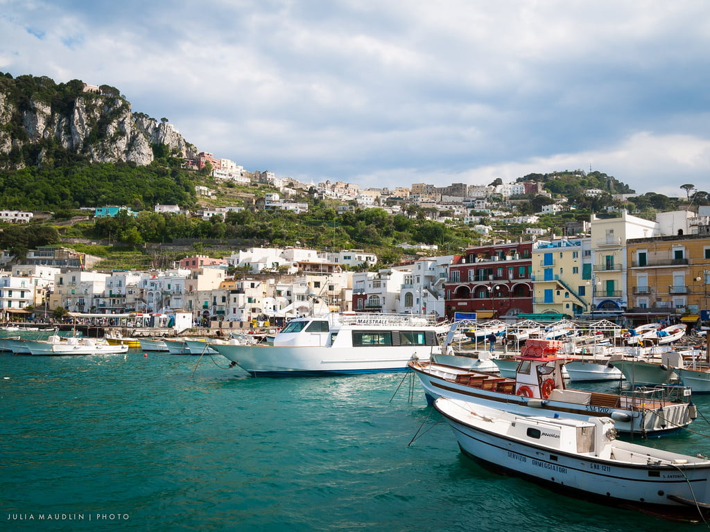 marina grande capri photo