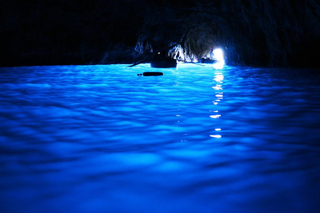 capri blue grotto photo