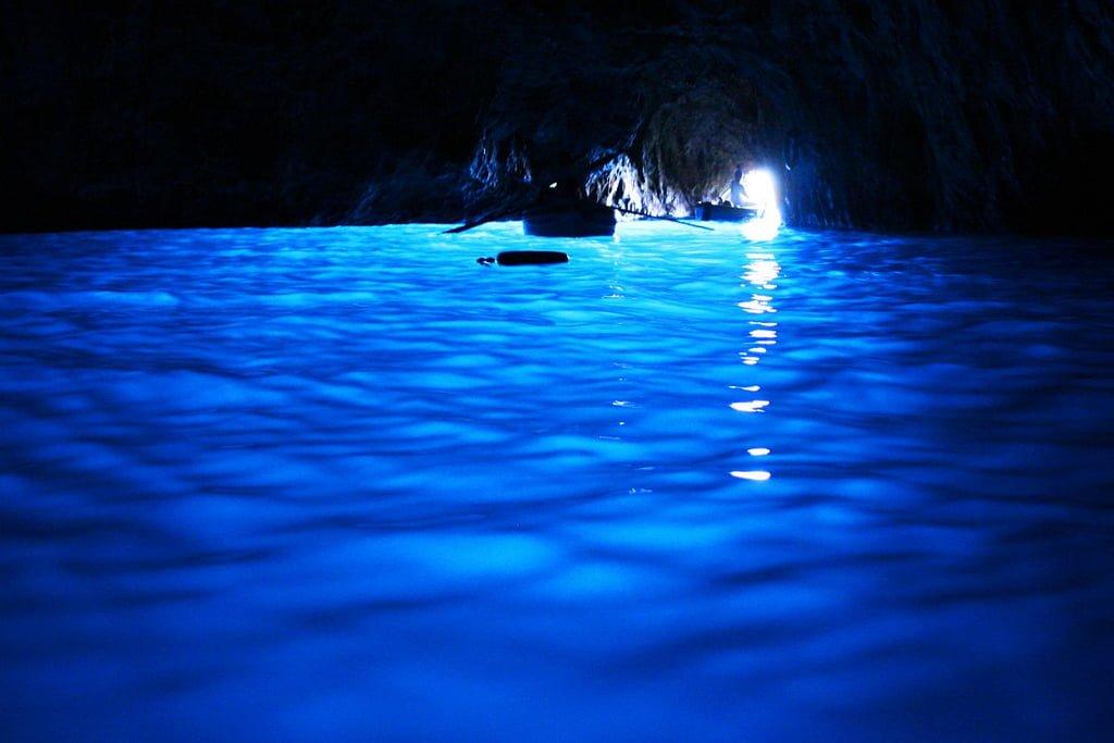 capri blue grotto photo