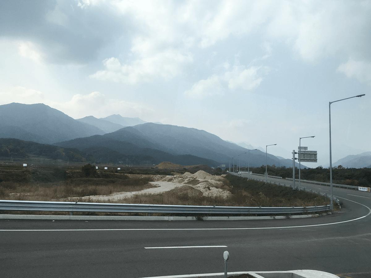 Дорога в Сокчо
