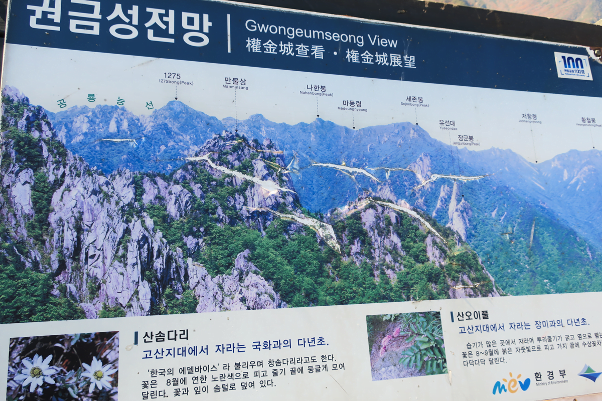Gwongeumseong View