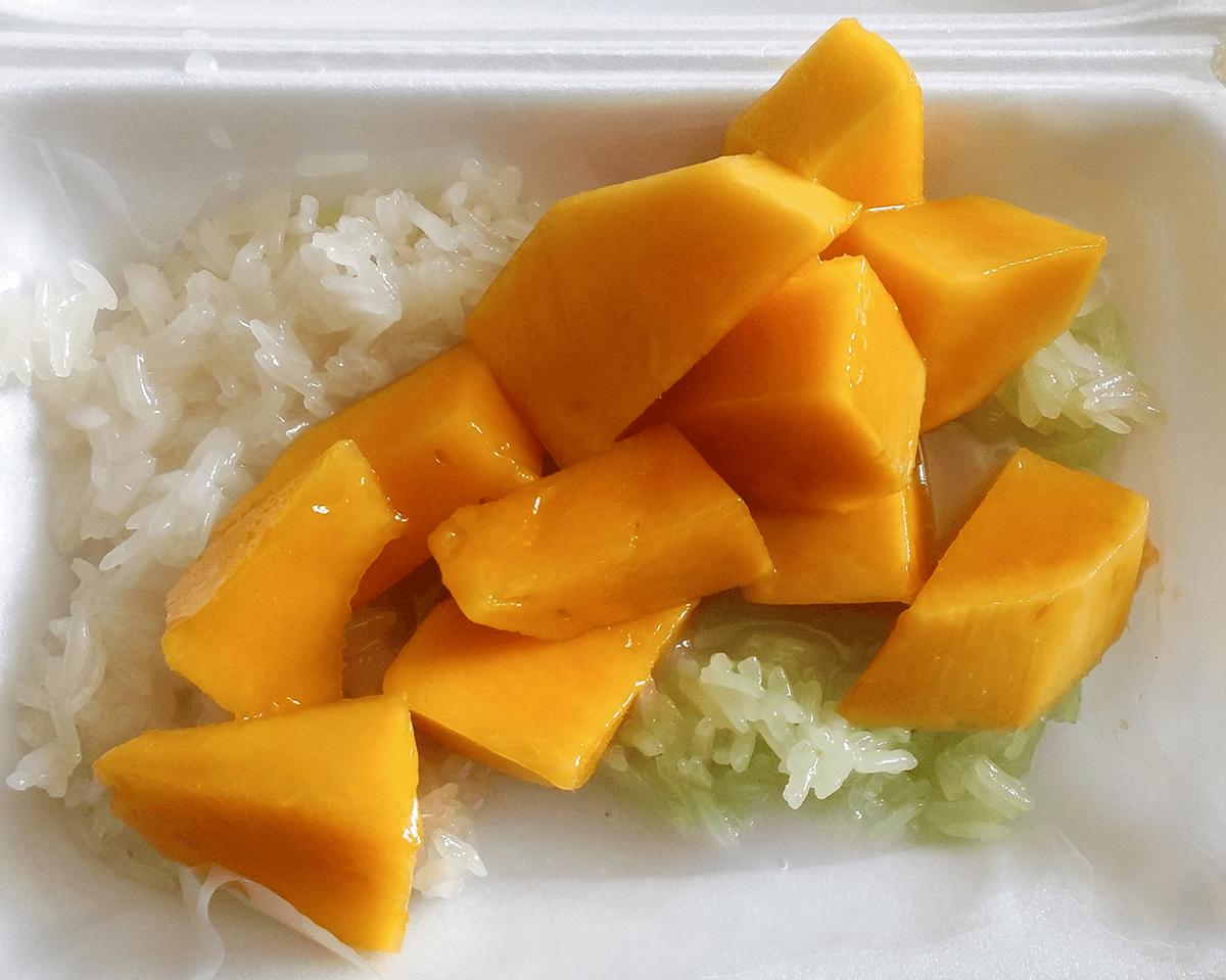 Десерт тайской кухни - Mango Sticky Rice