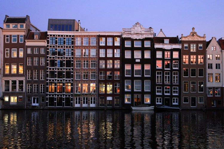 В Амстердам Самостоятельно