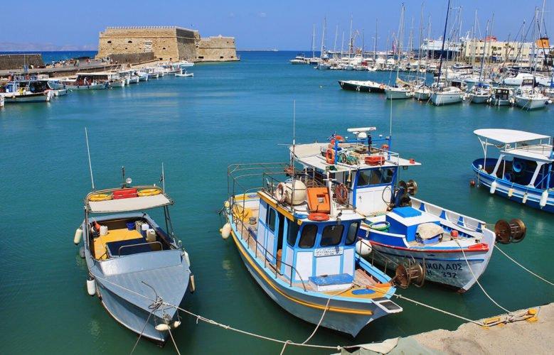 Морской порт Ираклион