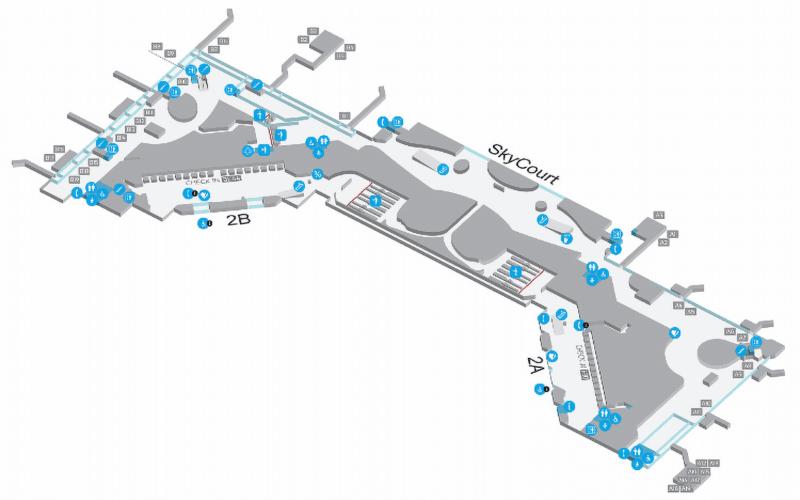 Ьерминалы аэропорта Будапешта