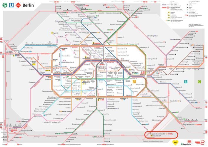 S+U-Bahn из аэропорта