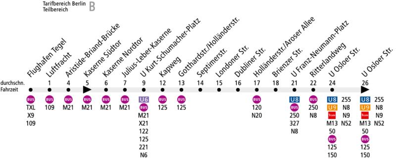 Схема маршрута автобуса 128
