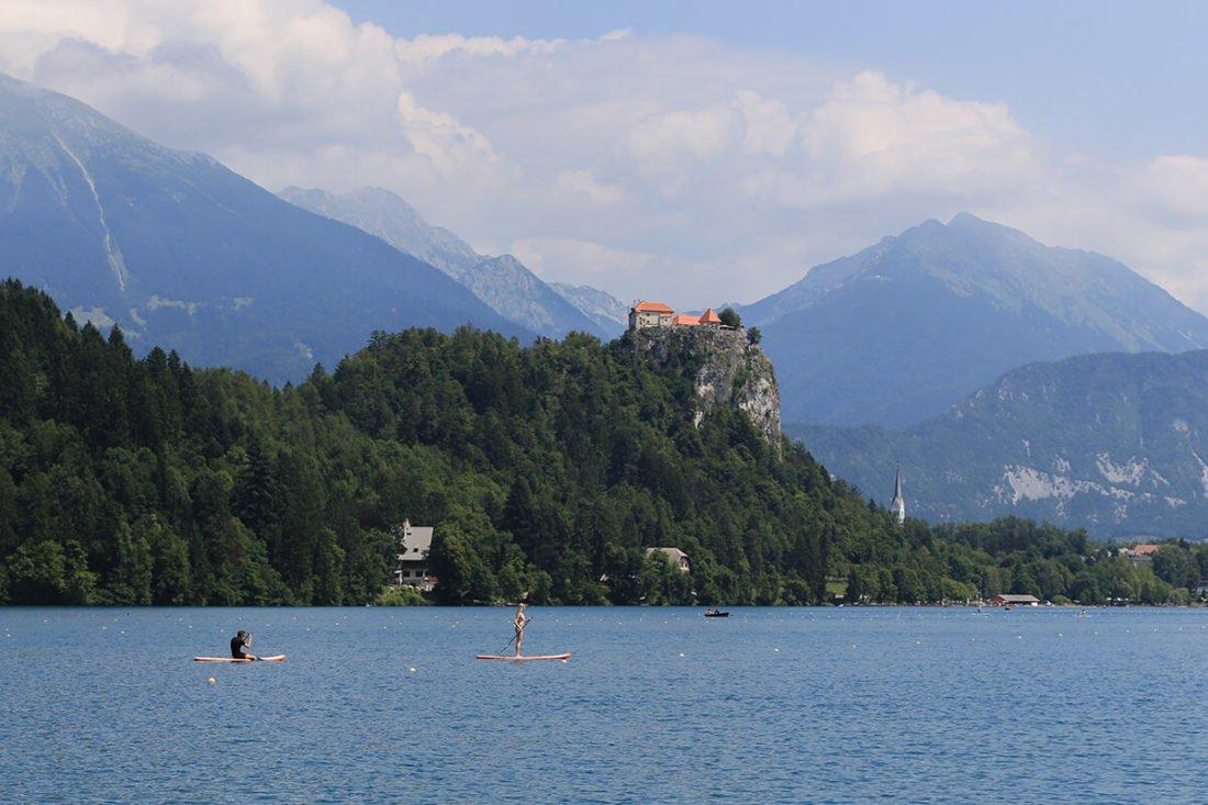 Замок на озере Блед