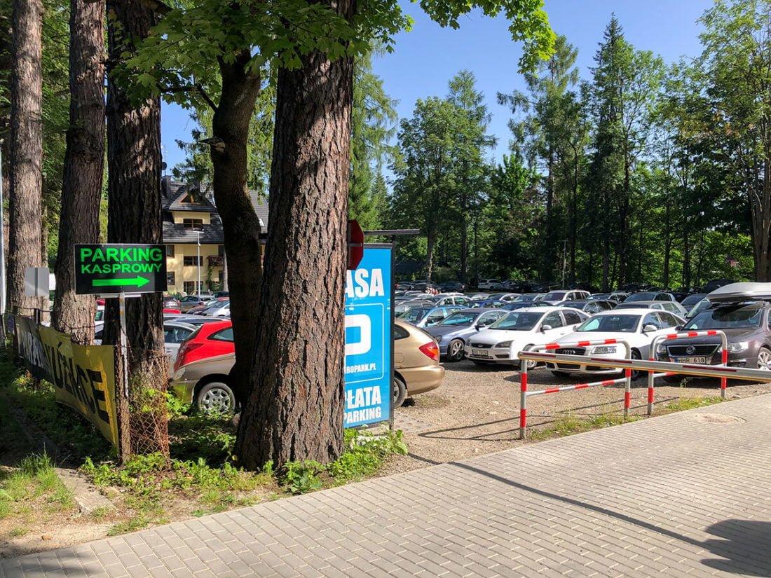 Парковка Kuznice