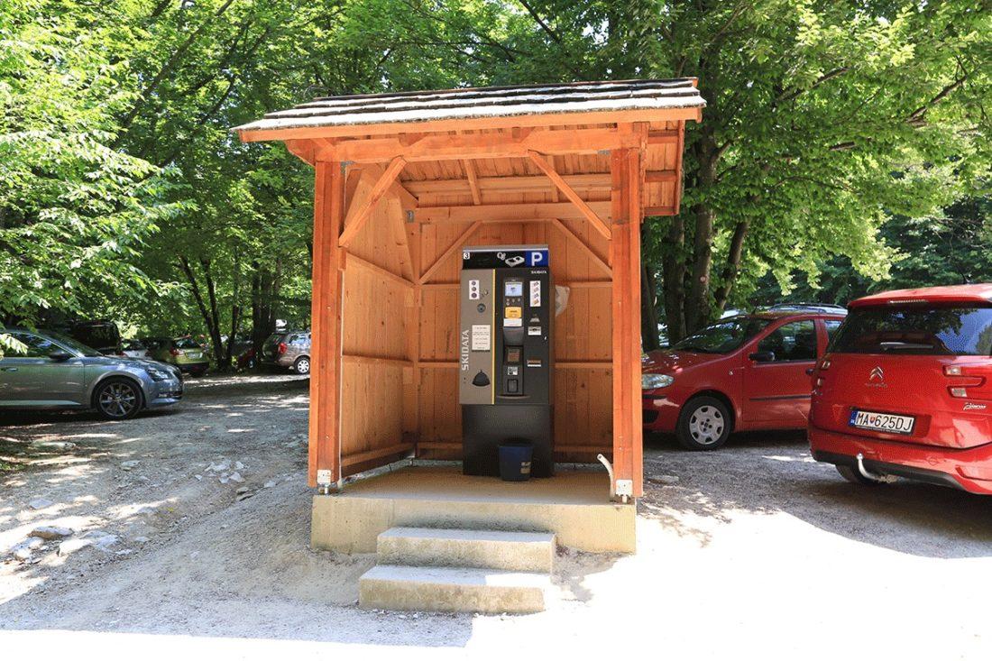 Парковка у заповедника Плитвицкие озера