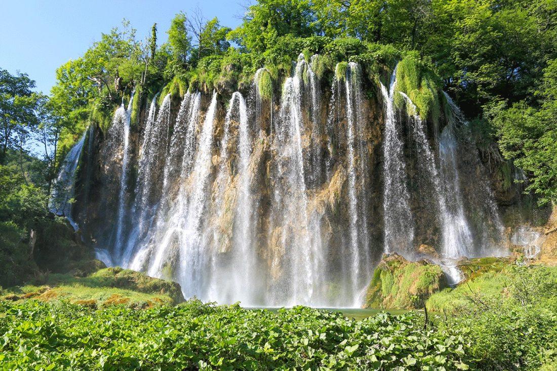 Водопад Плитвицких озер