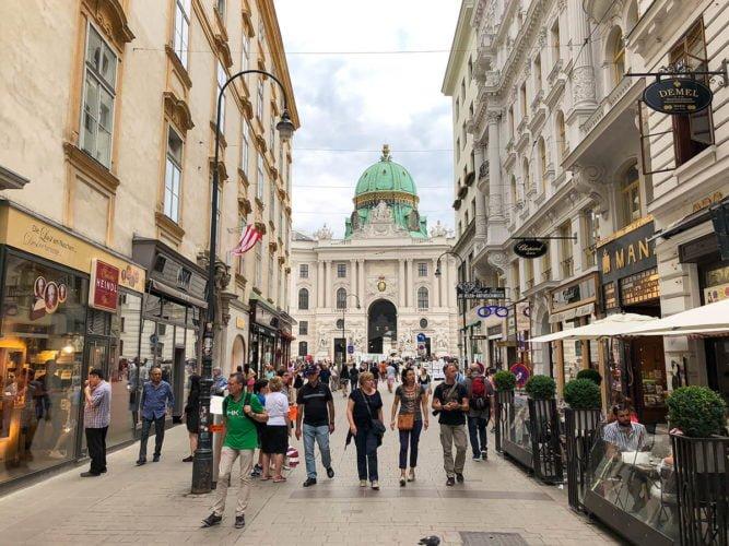 маршрут по Вене