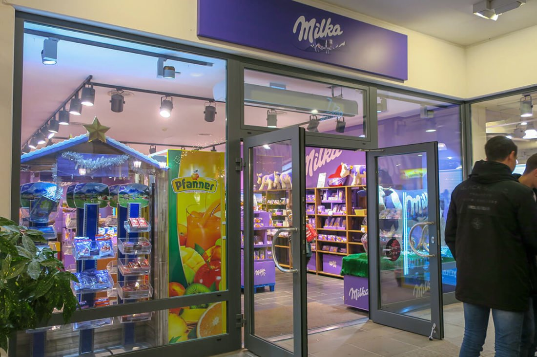 Магазин шоколада Milka