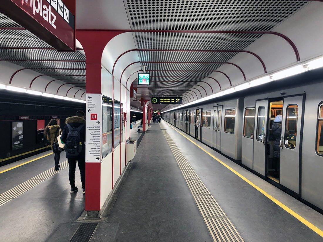 Станция метро Вены