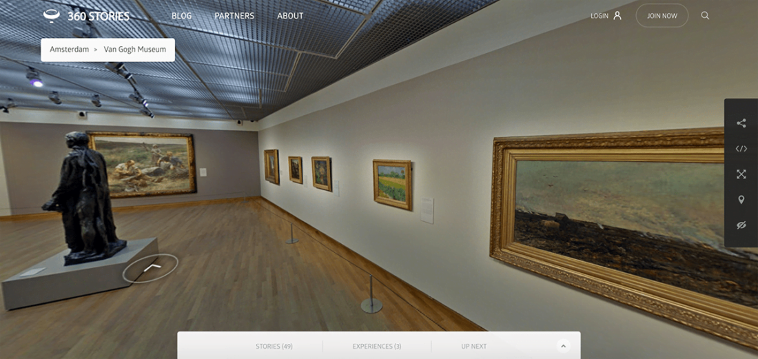 Онлайн-тур в музей Ван Гога