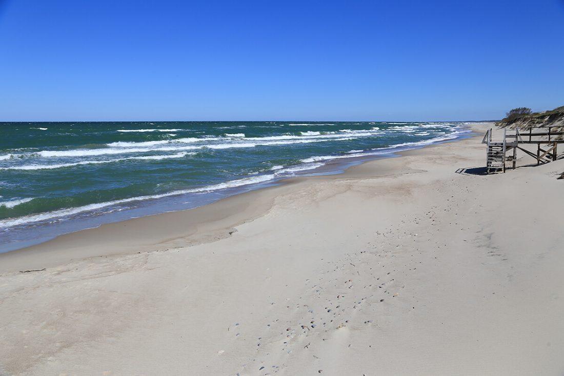 Пляж на на Куршской косе