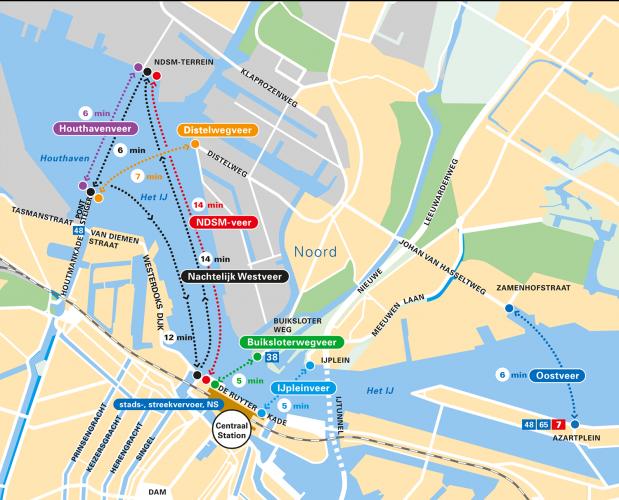 амстердам пароход