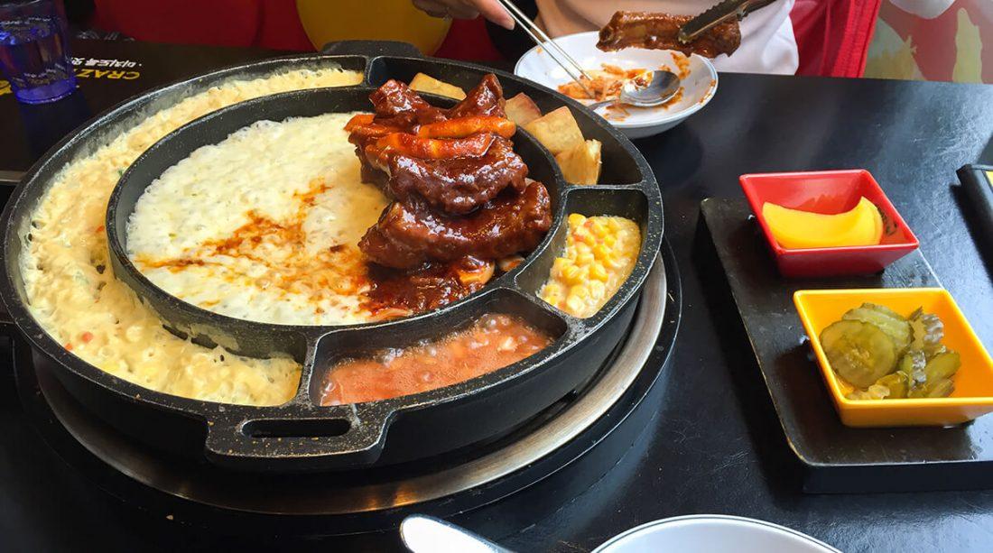 Корейские свиные ребрышки