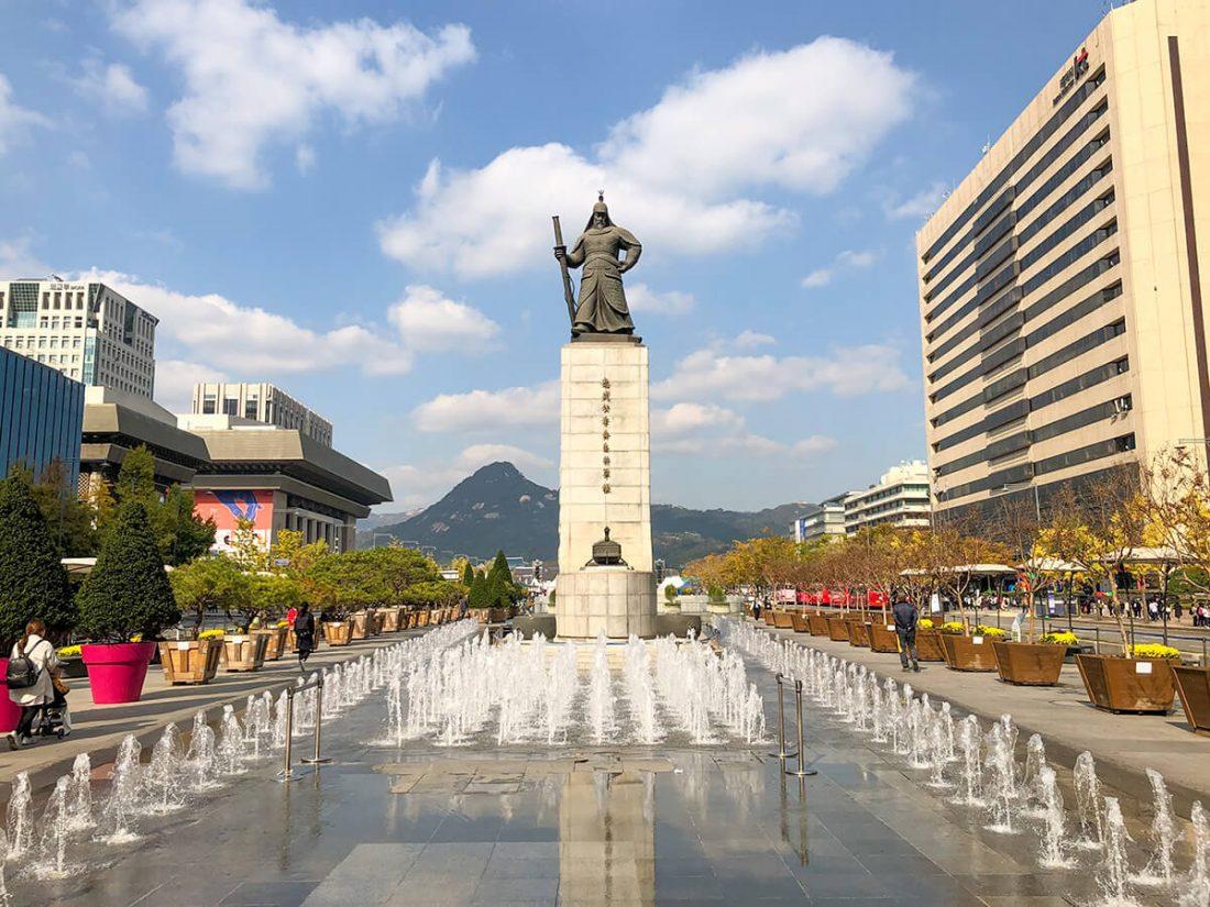 Главная площадь Сеула